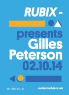 Rubix Gilles Peterson