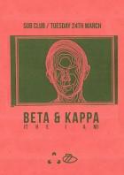 Beta & Kappa March 24th
