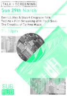 Sunday techno poster