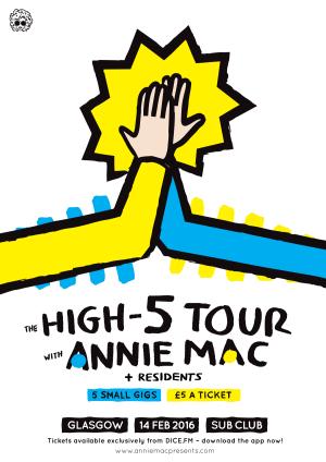 ANNIE-MAC---HIGH-5-TOUR---ART---FINAL---A3---GLASGOW